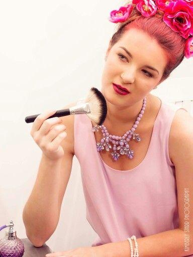 Boudoir Photo, shades of purple Model: Jacinta Lawrence MUA: Sam Darnley-Stuart