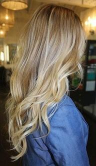 blonde hair look #hair #blonde