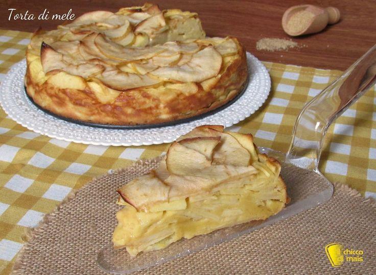 torta di mele con tante mele ricetta dolce con le mele leggero il chicco di mais