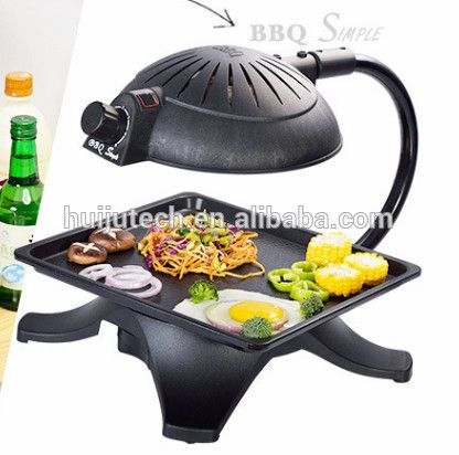 $ 3D Infrared korean bbq / electric bbq grill Ali Baba