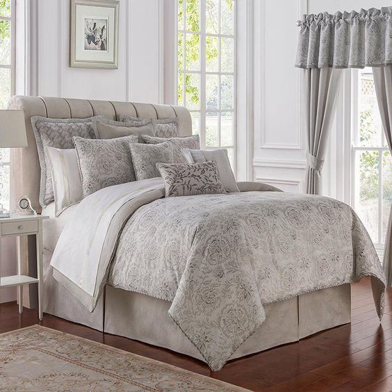 From The Waterford Bedding Collection Sophia Is A Stylish Take On