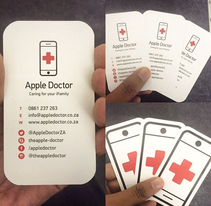 Three times the fun with our business cards!