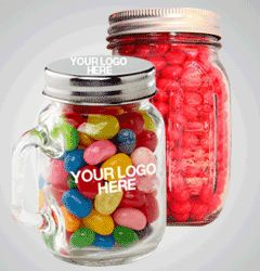 Mason Jars with lollies - om nom nom!