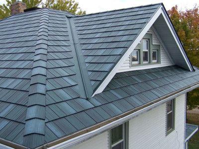 EDCO Shake Metal Roof -looks like wood, wears like steel!