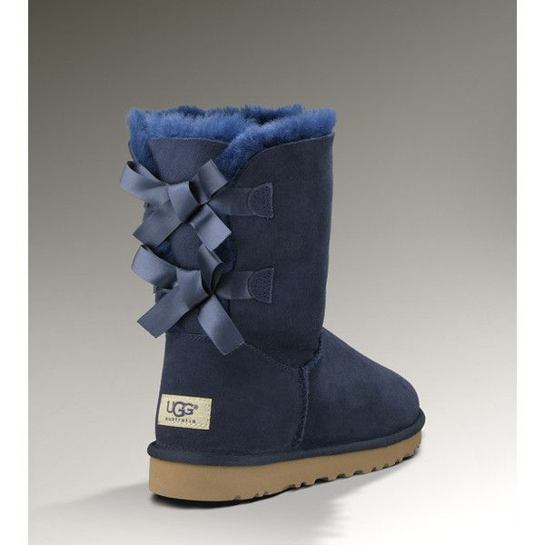 UGG Bailey Bow Women's Navy Clogs- I can't fall out of love with these, even when I remember regular Uggs are $200 and these cuties are $250.  $50 for bows!  That's $25 per ribbon tied in a knot.  Why is being cutie pie $50 more?