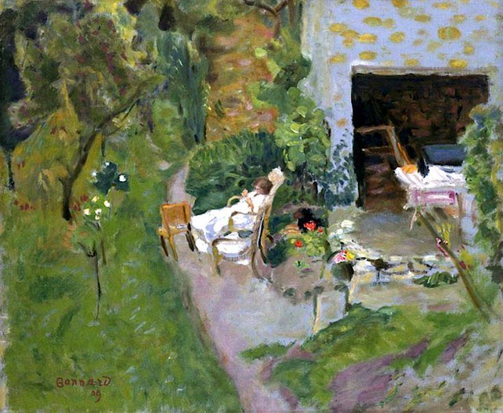 ALONGTIMEALONE: bofransson: Pierre Bonnard - La Sieste 1909