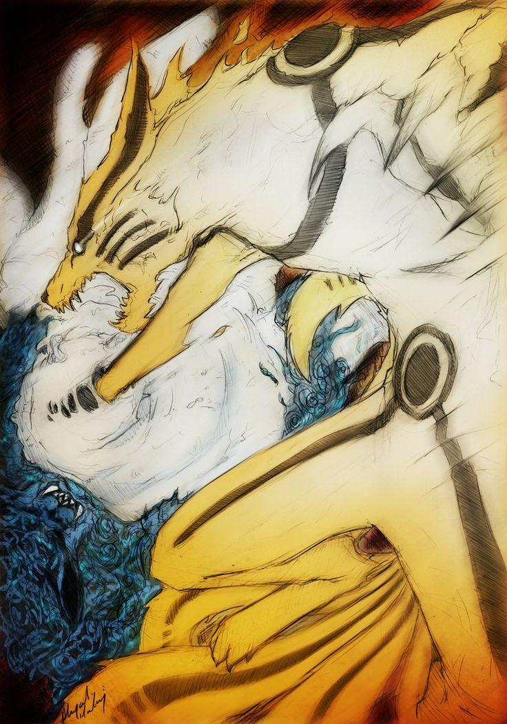 kurama kyuubi | naruto shippuden kyuubi uzumaki naruto kurama bijuu Anime Naruto HD ...