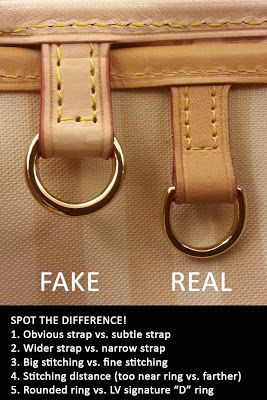 How to spot a fake Louis Vuitton Bag?