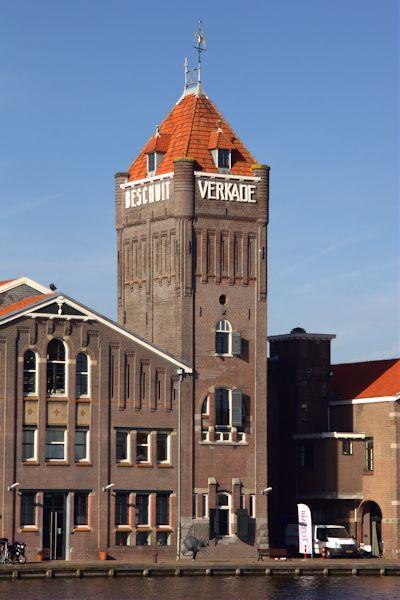 Watertoren Zaandam (oude Verkadefabriek)