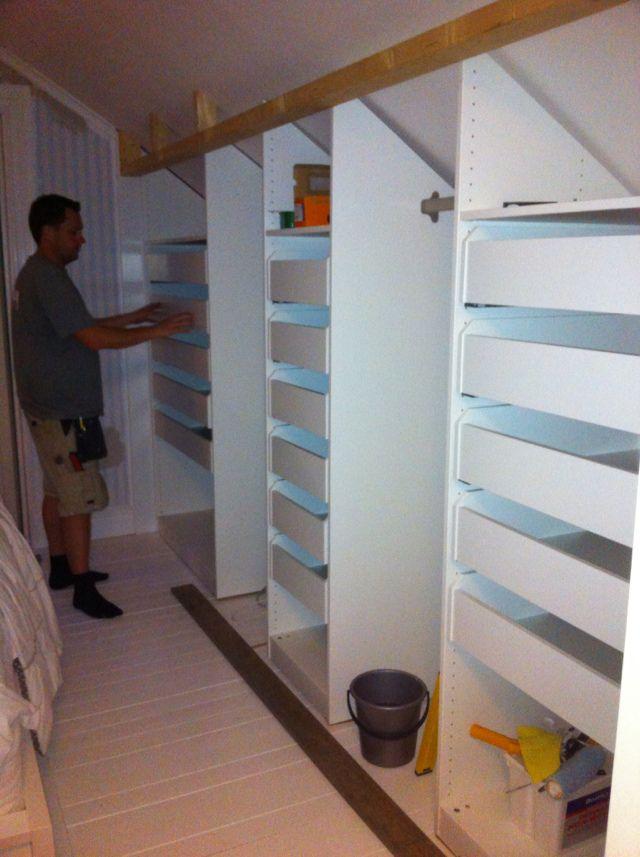 Livet på Granbacken: Garderober, garderober, garderober...