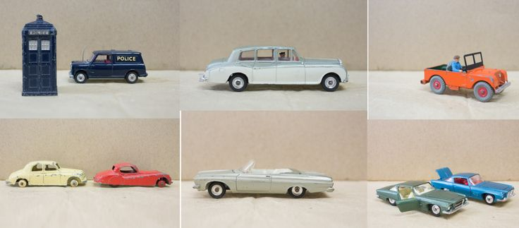 old dinky cars
