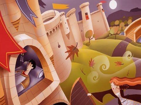 El Rey durmiente - Juan Carlos Pastor - Cuentos populares de Castilla y León  Video also has script and pages to color!
