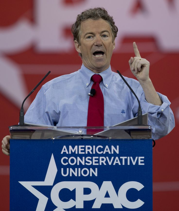 Sen. Rand Paul won The Washington Times/CPAC presidential preference straw poll for the third time in a row while Wisconsin Gov. Scott Walker surged to second place, as they trounced the rest of a strong but crowded field of potential candidates Saturday.