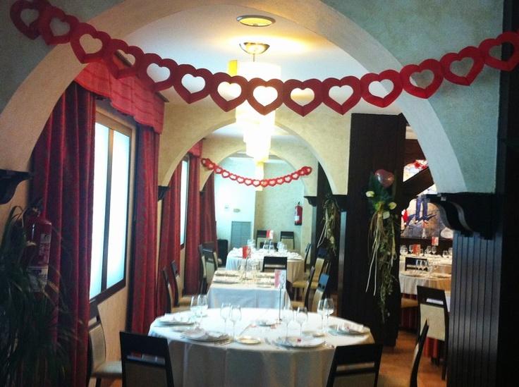 Preparación de San Valentín en Hotel el Aguila Zaragoza 5