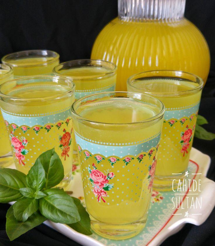 Zencefilli Limonata | Cahide Sultan بِسْمِ اللهِ الرَّحْمنِ الرَّحِيمِ