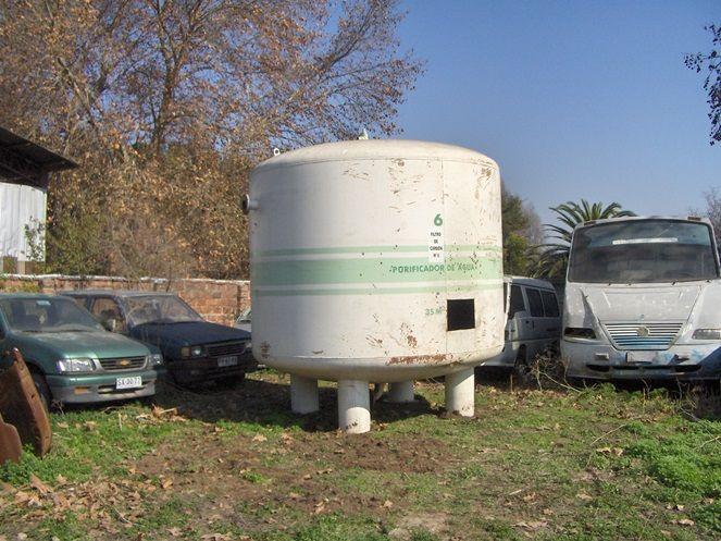 Estanque Acero Carbono (Filtro) / 18.000 Lts Aprox / Espesor 10 mm / Usado – ChileRemates.cl