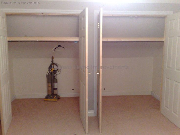 Built In Wardrobes In Eaves Bedroom Pinterest