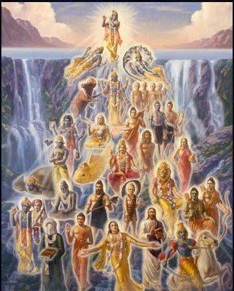 Krishna is the source of all incarnations.