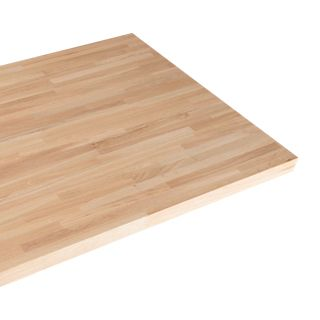 Solid Oak Restaurant Tabletop Rectangular 20mm
