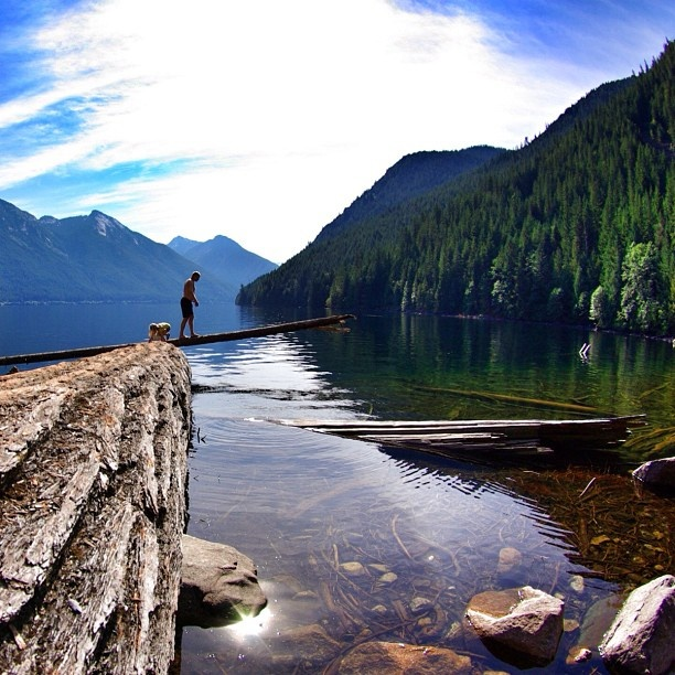 Chilliwack Lake, BC, Canada - photo by @stroop_waffle