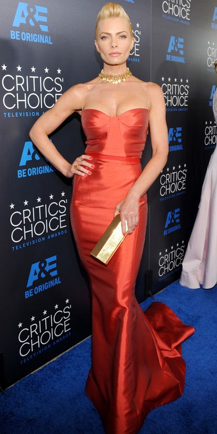 See All the Best Looks from the 2015 Critics' Choice TV Awards - Jaime Pressly from #InStyle