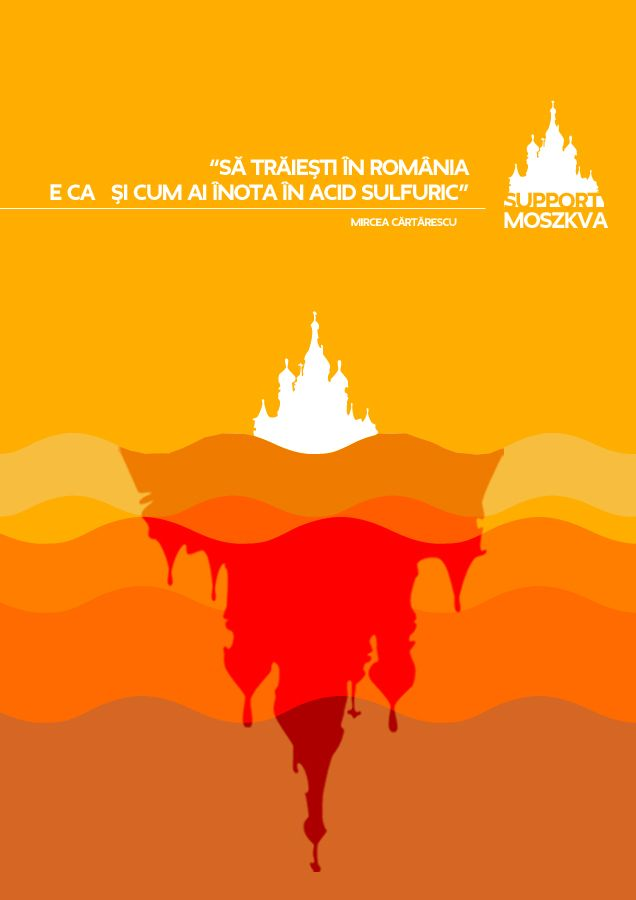 Sa traiesti in Romania e ca si cum ai inota in acid sulfuric!  rogvaiv.com - available for freelance