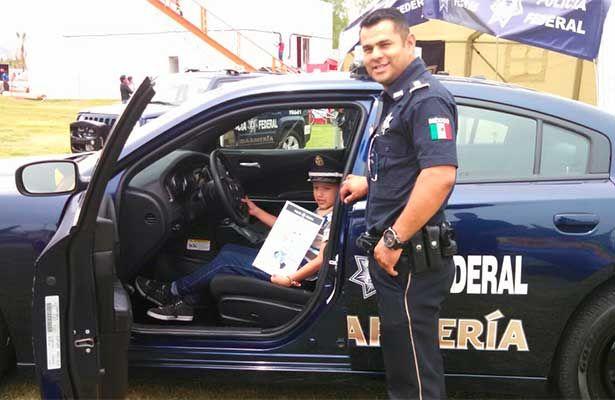 Policía Federal participa en la Feria de San Marcos 2016 en Aguascalientes