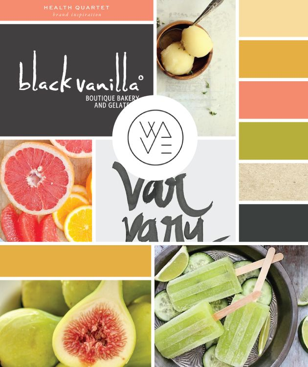 Brand Launch: Health Quartet | brand color inspiration | #mood #inspiration #design | please find image credits and respective links on the blog post at http://bit.ly/healthquartetlaunch