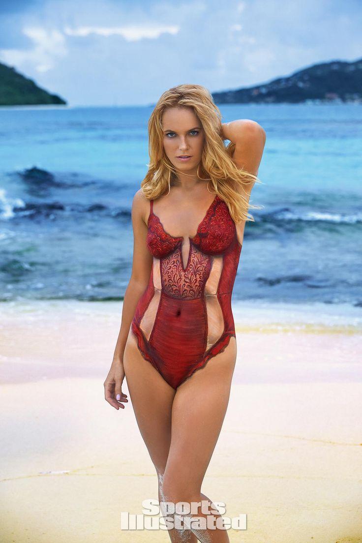 ... Swimsuit Issue (Bodypaint ... Hannah Ferguson Sports Illustrated Body