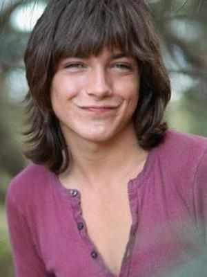 70s teen heart-throb, David Cassidy. All my classmates' favourite. To be honest, he didn't do much for me (my pin-up was Pete Duel) - but I was jealous of his hair ...