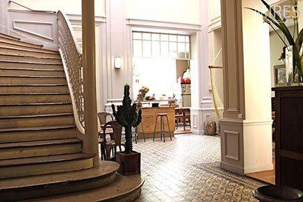 Woninginrichting herenhuis in Parijs