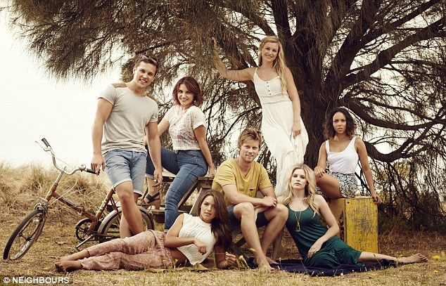 Neighbours Cast 2014 #neighbours2014 #neighboursAU