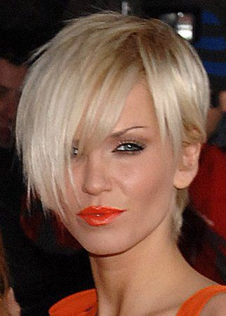 Sarah Harding pixie - keep thinking about having this haircut...