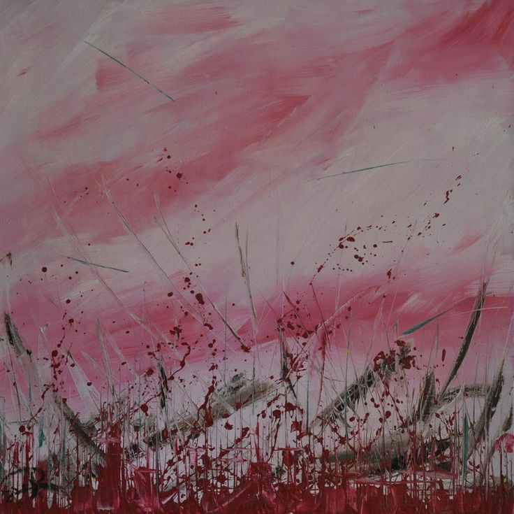 Flesh Oil on canvas, 70 x 70, February 2011 Created by Philippe Laferriere