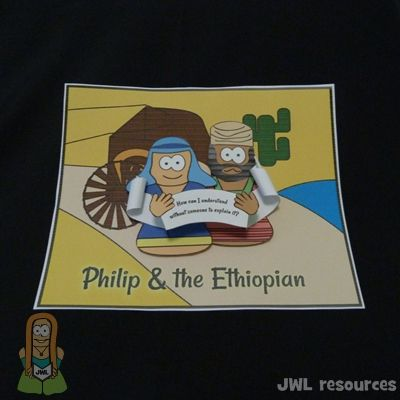 Philip and the Ethiopian Acts 8 - take home activity