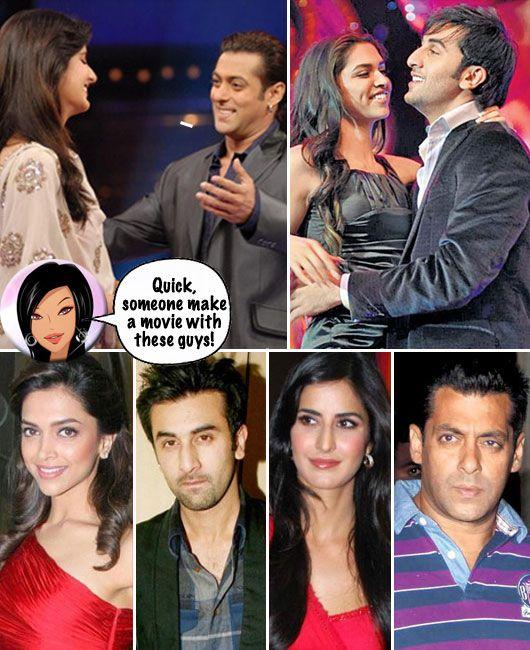 Salman, Katrina, Deepika and Ranbir
