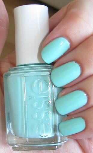 Bright Baby Blue, Essie Nail Polish