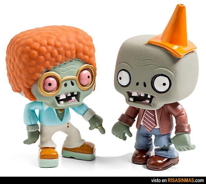 Figuritas del famoso juego de plantas vs zombies. Las querrás tener.