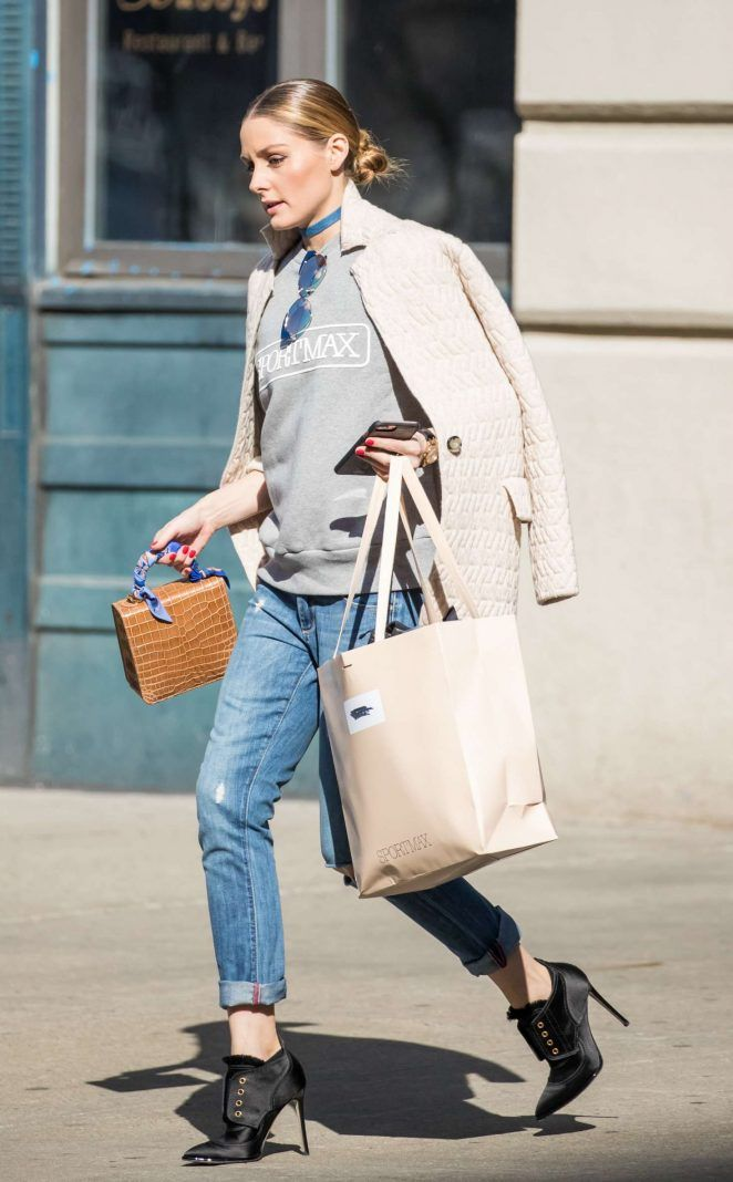 Olivia Palermo out and about in New York - March 9, 2017