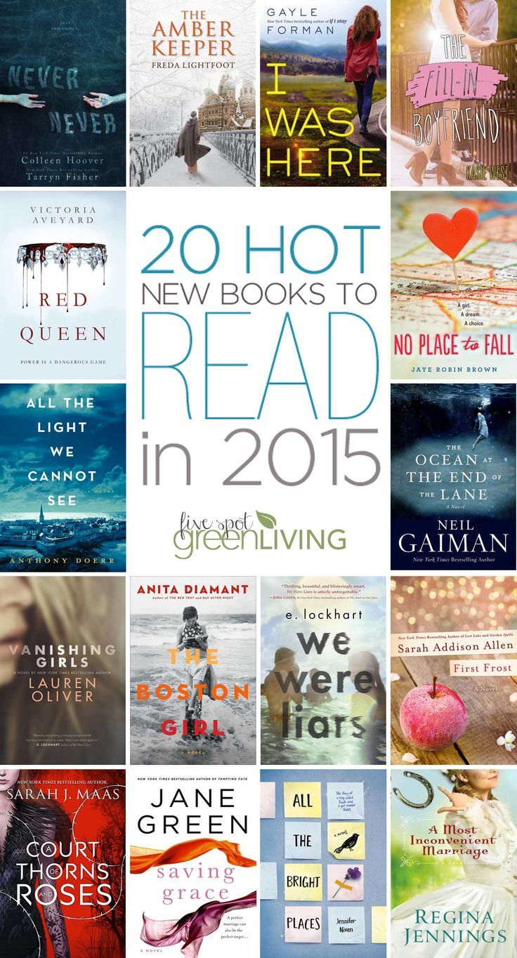 20 Hot New Books to Read in 2015