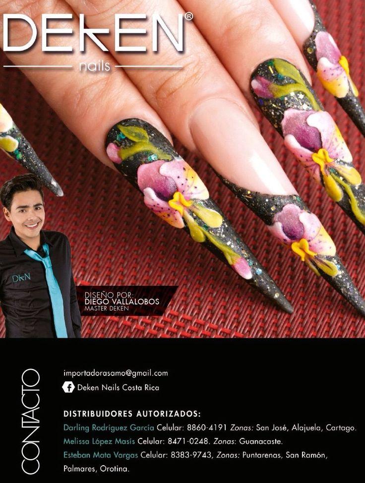 Déjate guiar por los expertos en uñas 🤗💅 DEKEN Nails Costa Rica