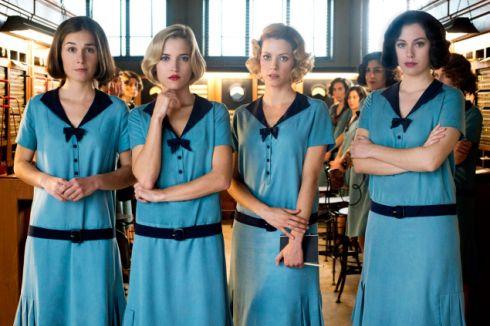 Las chicas del cable, la nueva serie de Netflix http://blgs.co/15xAd7