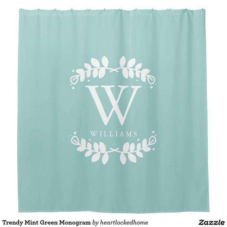 Best 25+ Monogram shower curtains ideas on Pinterest | Shower ...