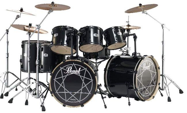 heavy metal drum set drum beats with double bass added pinterest beats metals and paris. Black Bedroom Furniture Sets. Home Design Ideas