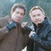Still of Danny Bonaduce and Barry Williams in Bigfoot, airing 6/30/2012 on SyFy
