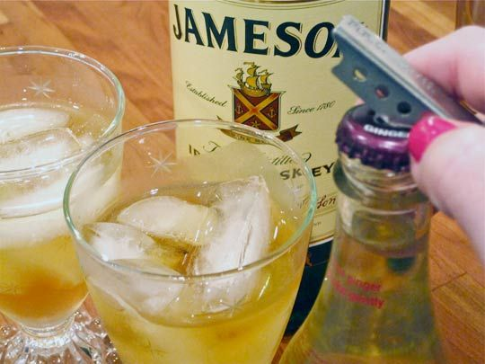 Jameson and Ginger cocktail recipe - tried this one over the weekend, it may be my new drink of choice