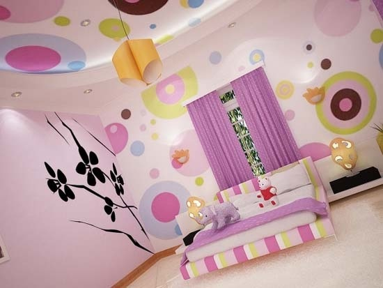 dormitorio moderno mujer