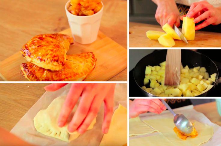 Découvrez comment faire de délicieux chaussons aux pommes