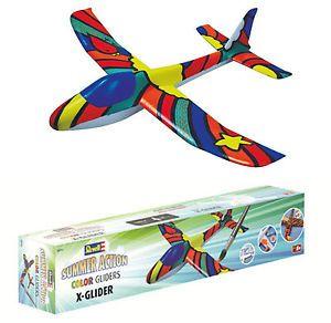Funkčné modely | Stavebnice, hádzadlá, voľné... | Hádzadlo X-Glider EPP 560 mm s farbami a štetcom | Lacné modely.sk