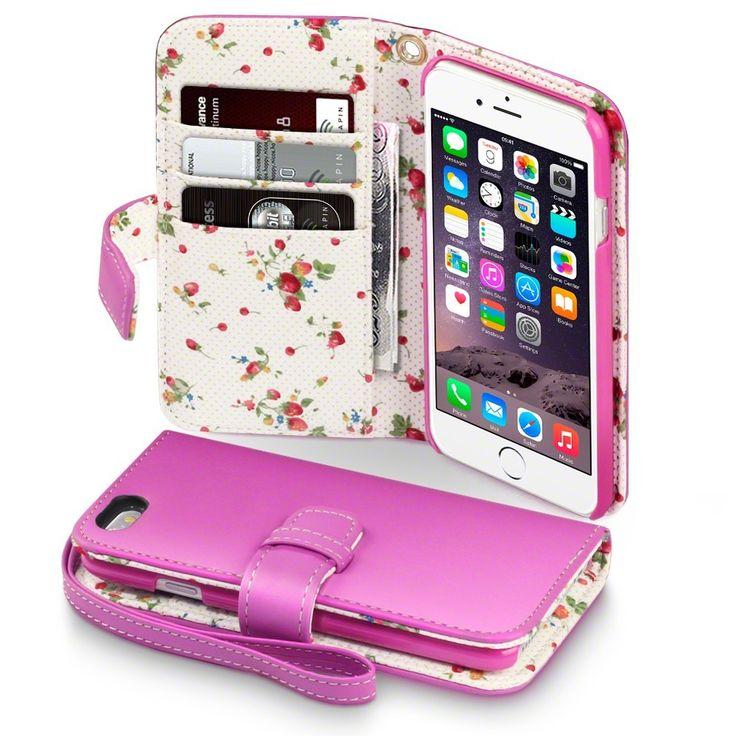 """Terrapin Θήκη Πορτοφόλι (117-113-023) Ροζ (iPhone 6 - 4.7"""") - myThiki.gr - Θήκες Κινητών-Αξεσουάρ για Smartphones και Tablets - Ροζ Θήκη Πορτοφόλι - Terrapin"""